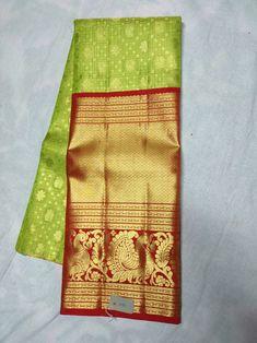 Kanchipuram Saree, Bridal Lehenga, Designer Dresses, Fabric, Kids, Free, Fashion, Tejido, Young Children