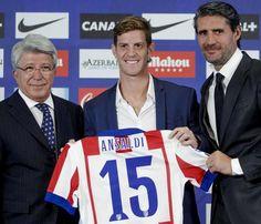 Nueva equipacion Ansaldi Atletico Madrid 2014-2015