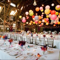 Brightly colored wedding idea. i feel like this totally encompasses the birthday princess wedding that I want.