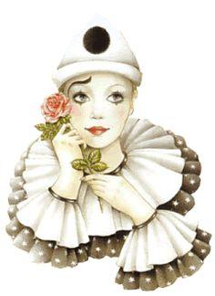 Alfabeto de Pierrot. | Oh my Alfabetos!