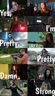 Harry Potter Girl, Harry Potter Jokes, Book Memes, Book Quotes, Poetry Quotes, Quotes Quotes, Girl Power Quotes, Girl Quotes, Fandom Quotes