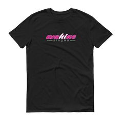 Wahine Strong Pink T-shirt Unisex