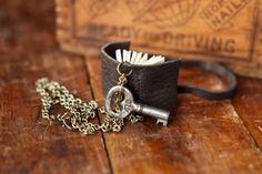 mini journal and key