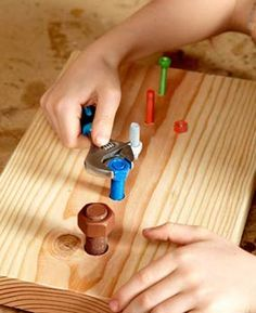 Using a wrench http://www.familyhandyman.com/DIY-Tools---Tips/DIY-Skills/Tool-Skills/diy-for-kids