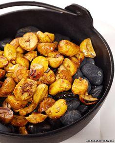 sounds interesting-chestnuts in soy caramel