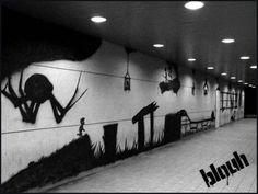 Limbo street art. - Imgur