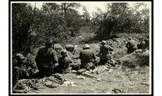Soldati italiani avanzano su corpi di soldati austriaci, ©MCRR