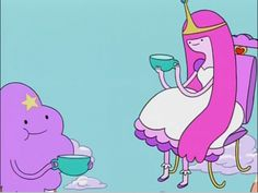 lumpy space princess will be the name of my band.