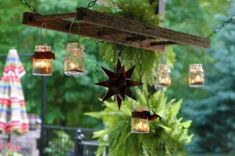 Christmas Decorating Ideas Turning Old Wooden Ladders into Beautiful Holiday Decorations
