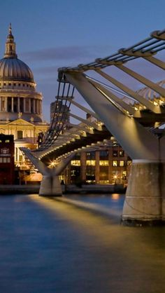 stroll across the Millennium Bridge in London, England. Places Around The World, The Places Youll Go, Places To See, Around The Worlds, Millennium Bridge London, London Bridge, Little Germany, London Eye, London Tips