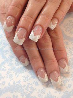 French chevron manicure