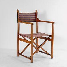 Folding chair, c1925 Hannes Meyer