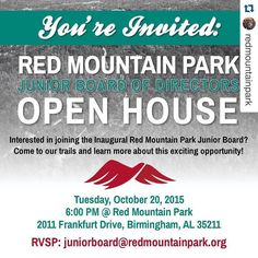 #Repost @redmountainpark with @repostapp.  RSVP: juniorboard@redmountainpark.org Hope to see you there!