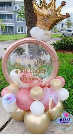 Balloon Crafts, Balloon Gift, Balloon Garland, Birthday Balloon Decorations, Birthday Balloons, Birthday Parties, Balloon Arrangements, Balloon Centerpieces, Balloon Column Kit