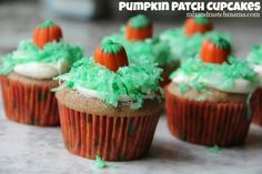 Pumpkin Patch Cupcak