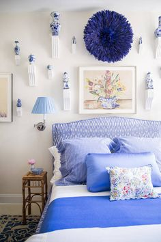 Nick Olsen Decorates With Color White Bedroom Designbedroom Designsblue
