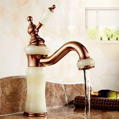 Antique luxury faucet hot