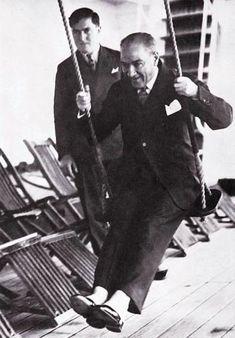 History — Republic of Turkey's founder Mustafa Kemal Atatürk.