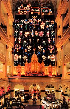 Great memories of the Christmas Light Show at Wanamaker's