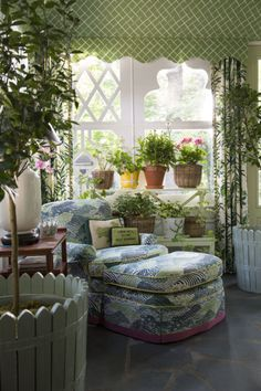 Bring the Adventure Home – Bring the adventure home with products designed by Madcap Cottage! Sunroom Decorating, Decor, Patio Room, Interior Furniture, Fantasy House, Romantic Cottage, Cozy House, Cottage Interiors, Interior Design