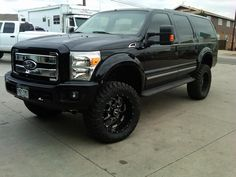 Nice Ford 08 Front Nose on Excursion - PowerStrokeNation : Ford Powerstroke Diesel Forum Ford Excursion Ford Excursion Diesel, Lifted Excursion, Old Pickup Trucks, Big Trucks, Ford Trucks, Ford 4x4, Ford Expedition, Big Ride, Powerstroke Diesel
