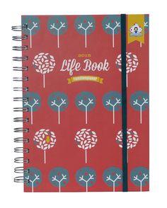 2015 Life Book. Hard-Cover Familienplaner im A5-Format mit 7 Spalten & organisatorischen Merkmalen: Amazon.de: Bürobedarf & Schreibwaren