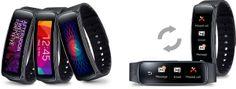 Le nouveau bracelet connecté Gear Fit Plus qu'un tracker d'activités, il vous permet d'interagir avec votre tablette et smartphone Samsung