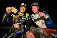 Ford Fiesta St gets a 1-2 finish! Tanner and Patrik Sandell taking gold and silver in Gymkhana Grind at X Games LA 2013