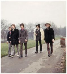 The Rolling Stones | Charlie Watts, Mick Jagger, Bill Wyman, Keith Richards and Brian Jones in London, 1967.