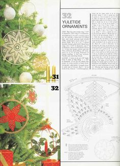 Magic Crochet nº 32 - leila tkd - Picasa Web Albums Crochet Tablecloth, Crochet Doilies, Crochet Home, Diy Crochet, Crochet Blocks, Crochet Patterns, Big Candles, Christmas Decorations, Holiday Decor