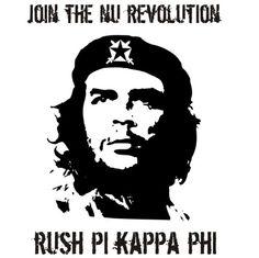 CheGuevera #Screenprinting #FraternityRush #Recruitment #PiKappaPhi $7.90 http://somethinggreek.com/shop/
