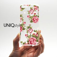 Transparent clear case for iPhone 4/4s 5/5s 5c by Uniqstyle, $9.95