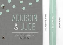 These custom wedding itineraries with fun silhouettes are sure to ...