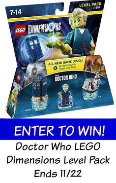 LEGO Dimensions Doctor Who Level Pack Giveaway