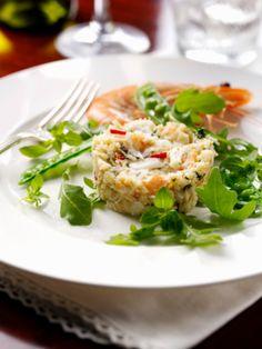 Prawn - Basmati Rice - #Terrine #gelatine #GME #starters ©gettyimages