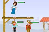 GIBBETS 3 - Ya está aquí la última versión de Gibbets, con nuevos niveles y personajes pero la misma diversión y el mismo objetivo: corta las cuerdas apuntando con precisión y ayuda a los pobres personajes antes de que se queden sin respiración.