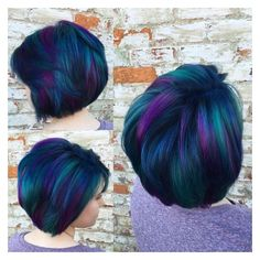 Short Peacock Hair Hair Colors Ideas ❤ liked on Polyvore featuring accessories, hair accessories, peacock feather hair accessories, short hair accessories and peacock hair accessories