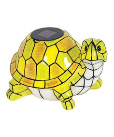 Look what I found on #zulily! Turtle Solar LED Garden Décor by Exhart #zulilyfinds