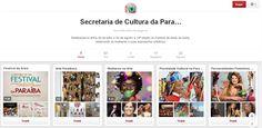 Utilização do Pinterest na divulgação digital do 14º Festival de Artes de Areia.