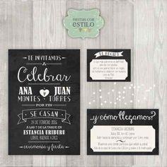 Invitaciones Tarjetas 15 Años - Bodas - Casamiento - $ 18,00