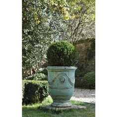 I'm searching for big, aqua, French anduze planters for my front entrance - preferably ones that don't cost one thousand dollars...
