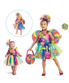 Candy Fairy Costume for Baby - chasing fireflies Family Halloween Costumes, Halloween Dress, Halloween Kostüm, Halloween Outfits, Candy Girls, Candy Costumes, Girl Costumes, Costume Bonbon, Fairy Costume For Girl