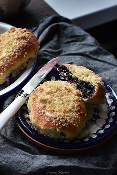 Jagodzianki- najlepsze! - Justyna Dragan Polish Recipes, Polish Food, Salmon Burgers, Food Photo, Muffin, Sweets, Desserts, Fit Meals, Cooking