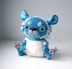 blue baby tiger by da-bu-di-bu-da.deviantart.com on @deviantART