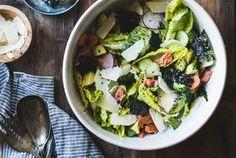 Wasabi Caesar Salad {gluten-free}