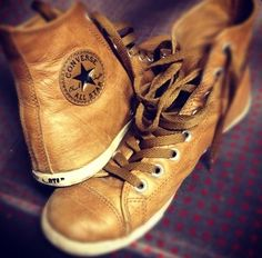 Converse Leather Hi-Tops  (Must Have!)