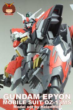 MG 1/100 Gundam Epyon Custom Build - Gundam Kits Collection News and Reviews