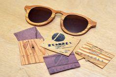 Oculos Zerezes - irrelevantes Sunglasses, Wood, Fashion, Sustainable Fashion, Product Design, Favors, Tips, Eye Glasses, Industrial Design