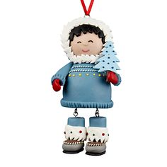 Buy John Lewis Snowboy Decoration, Blue online at JohnLewis.com - John Lewis