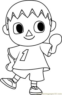 Animal Crossing Coloring Pages 3 Coloring pages, Animal